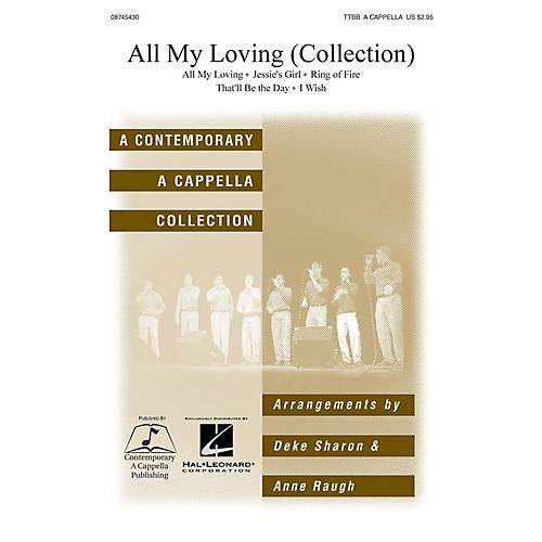 Hal Leonard All My Loving TTBB A Cappella arranged by Deke Sharon