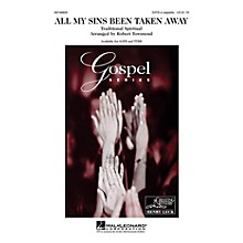 Hal Leonard All My Sins Been Taken Away TTBB A Cappella Arranged by Robert Townsend