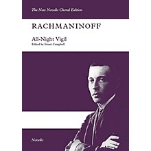 Novello All-Night Vigil (SATB/SATB Vocal Score The New Novello Choral Edition) Vocal Score by Sergei Rachmaninoff