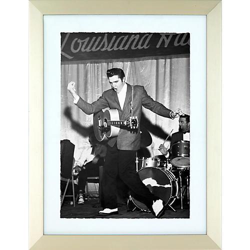 Elvis Presley Enterprises All Shook Up Elvis Print