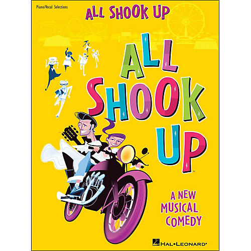 Hal Leonard All Shook Up arranged for piano, vocal, and guitar (P/V/G)
