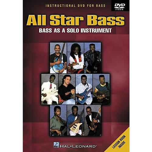 Hal Leonard All Star Bass - Bass As a Solo Instrument (DVD)