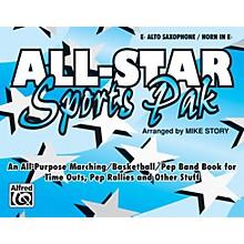 Alfred All-Star Sports Pak E-Flat Alto Saxophone/Horn in E-Flat