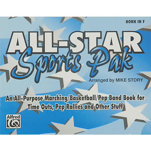 Alfred All-Star Sports Pak Horn in F