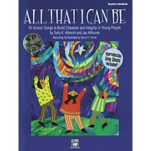 Alfred All That I Can Be Book/CD