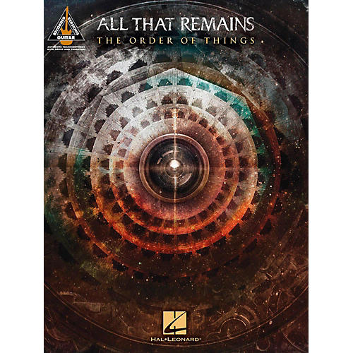 Hal Leonard All That Remains - The Order Of Things Guitar Tab Songbook