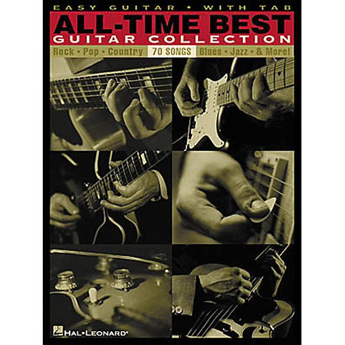 Hal Leonard All-Time Best Guitar Collection Easy Guitar Tab Songbook