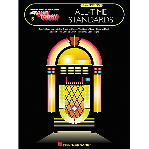 Hal Leonard All-Time Standards 2nd Edition E-Z Play 5