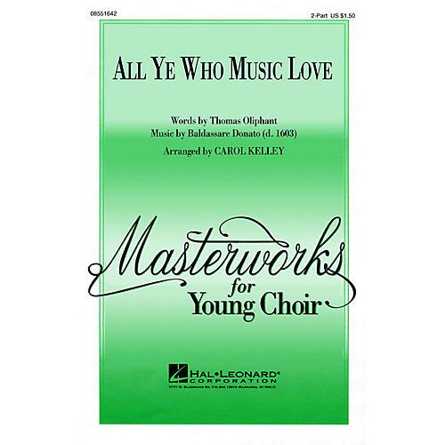 Hal Leonard All Ye Who Music Love