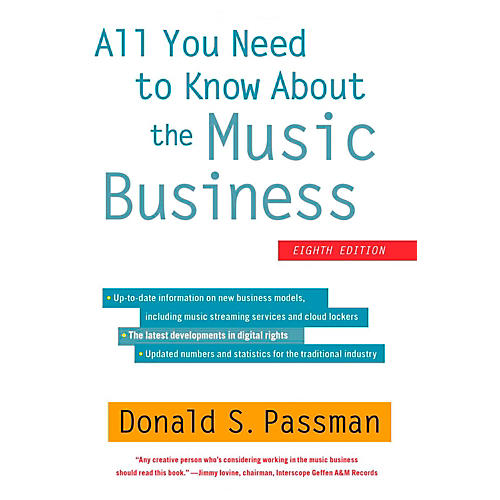 Hal Leonard All You Need To Know About The Music Business - 8th Edition