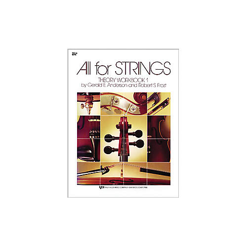 KJOS All for Strings 1 Theory Workbook Viola