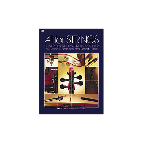 KJOS All for Strings 2 Viola Book