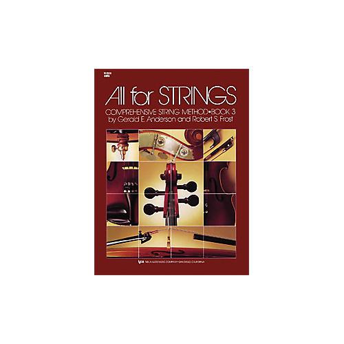 KJOS All for Strings 3 Violin Book