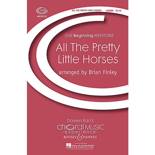 Boosey and Hawkes All the Pretty Little Horses (CME Beginning) UNIS arranged by Brian Finley