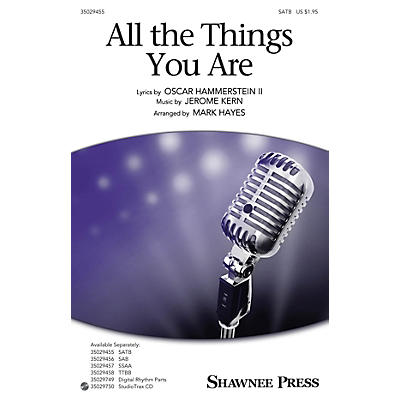 Shawnee Press All the Things You Are TTBB Arranged by Mark Hayes