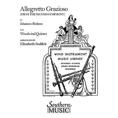 Southern Allegretto Grazioso (Woodwind Quintet) Southern Music Series Arranged by Elizabeth Sadilek