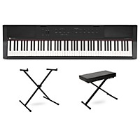 Deals on Williams Allegro III Keyboard with Stand and Bench