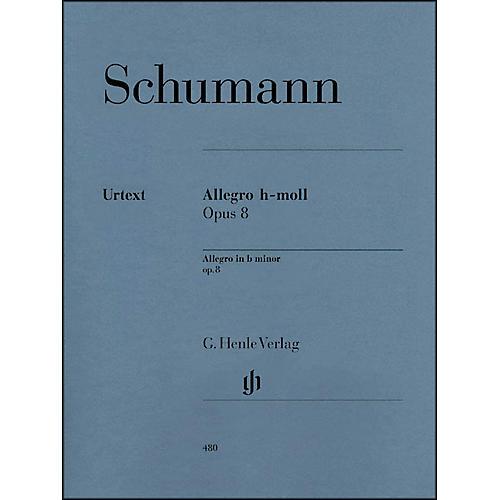 G. Henle Verlag Allegro In B Minor Op. 8 By Schumann