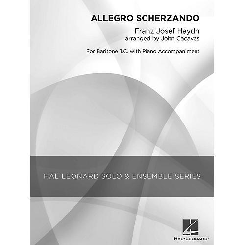 Hal Leonard Allegro Scherzando (Grade 2.5 Baritone T.C. Solo) Concert Band Level 2.5 Arranged by John Cacavas