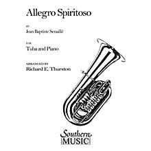 Southern Allegro Spiritoso (Tuba) Southern Music Series Arranged by Richard E. Thurston