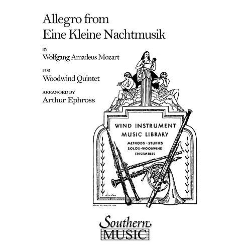 Southern Allegro (from Eine Kleine Nachtmusik) (Woodwind Quintet) Southern Music Series Arranged by Arthur Ephross