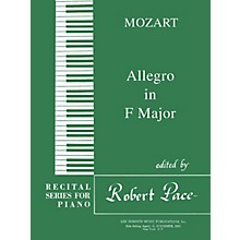 Lee Roberts Allegro in F Major Pace Piano Education Series Composed by Wolfgang Amadeus Mozart