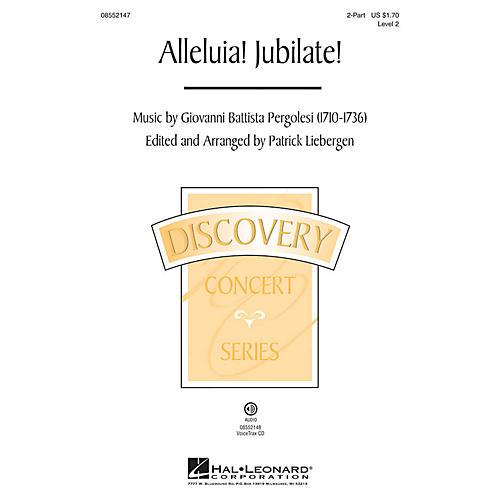 Hal Leonard Alleluia! Jubilate! (Discovery Level 2) VoiceTrax CD Arranged by Patrick Liebergen