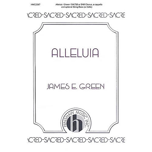 Hinshaw Music Alleluia (Looking Away) SATB composed by James E. Green