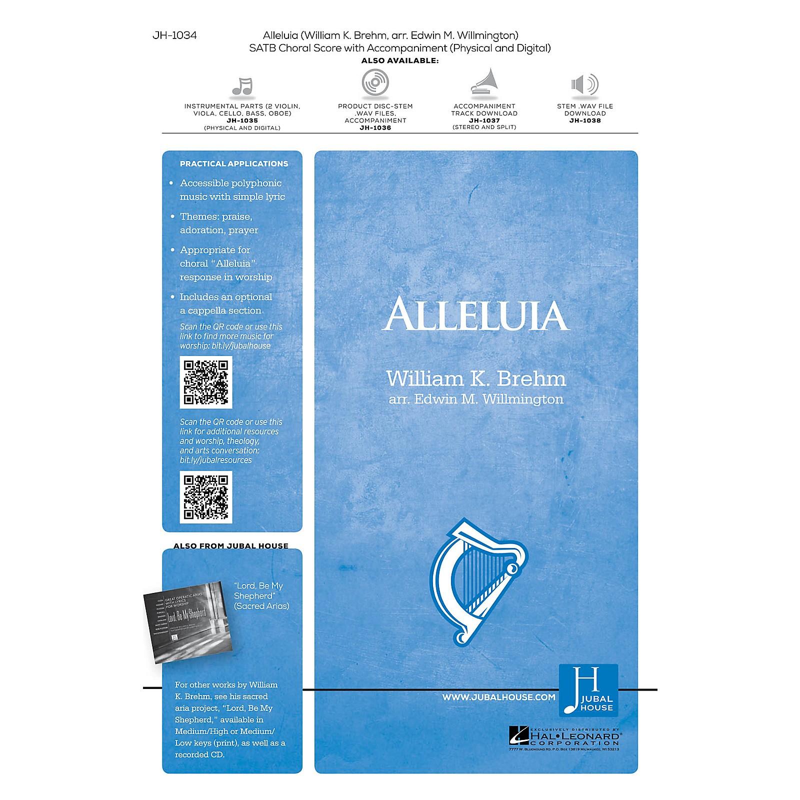 Jubal House Publications Alleluia SATB arranged by Edwin M. Willmington