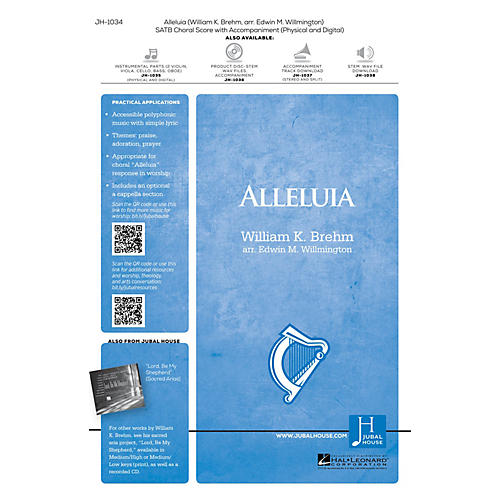Jubal House Publications Alleluia SATB arranged by Edwin M. Willmington