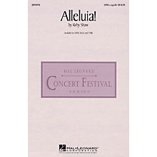 Hal Leonard Alleluia! TTBB A Cappella Composed by Kirby Shaw