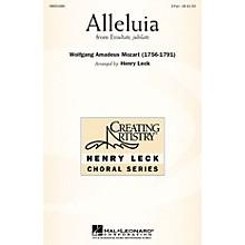 Hal Leonard Alleluia (from Exsultate, Jubilate) 2-Part arranged by arr. Henry Leck
