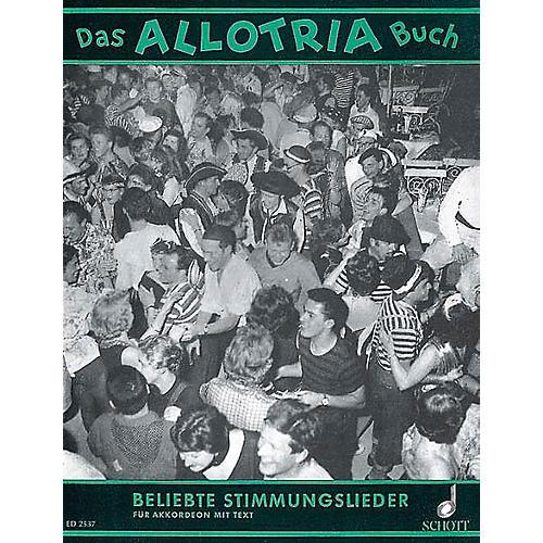Schott Alltrio-buch Accordion Schott Series