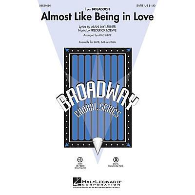 Hal Leonard Almost Like Being in Love SAB Arranged by Mac Huff