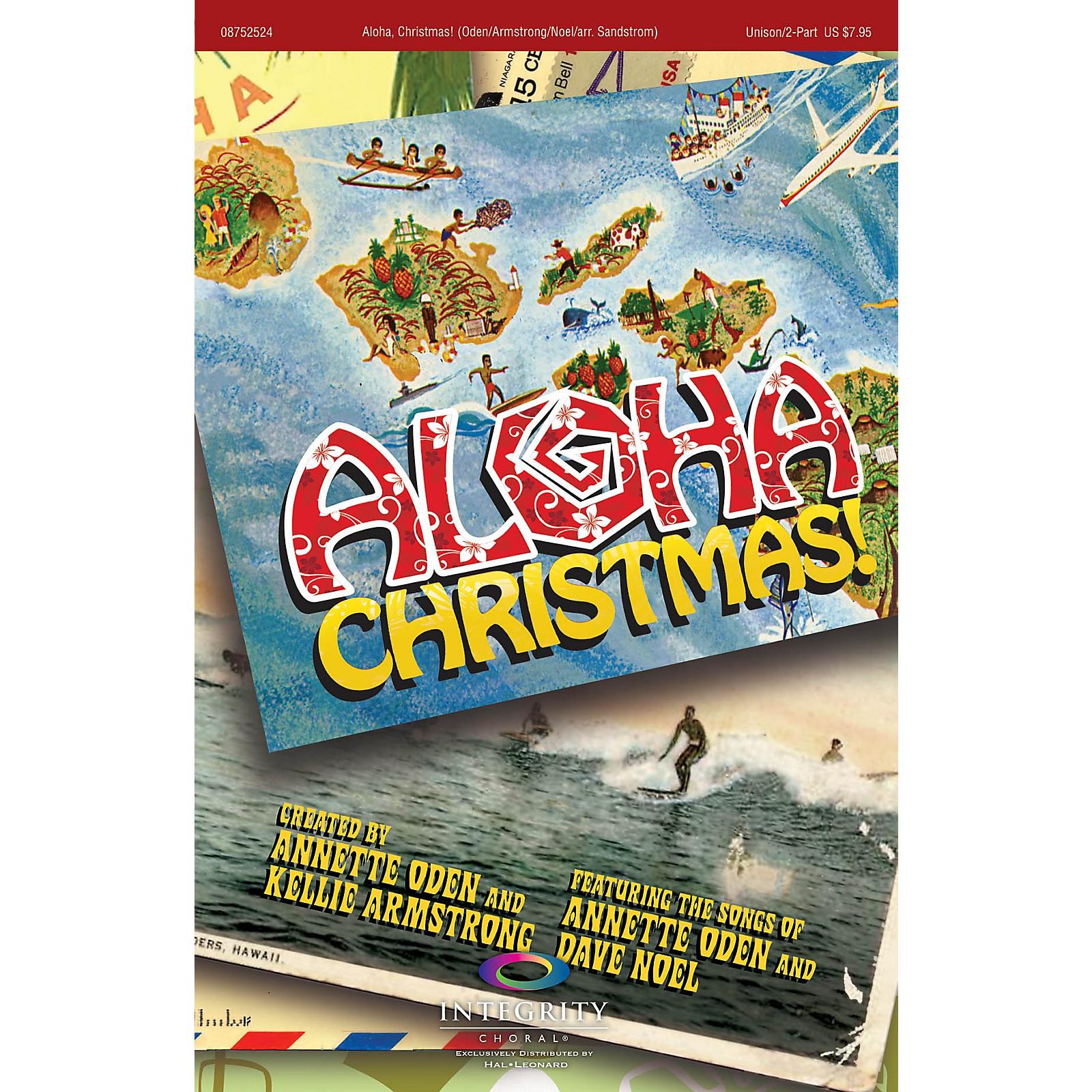 Integrity Choral Aloha, Christmas! SPLIT TRAX Arranged by Jeff Sandstrom