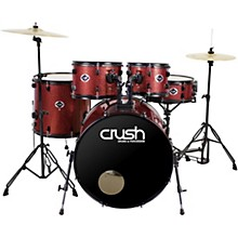 "Crush Drums & Percussion Alpha Complete 5-Piece Drum Set with 22"" Bass Drum"