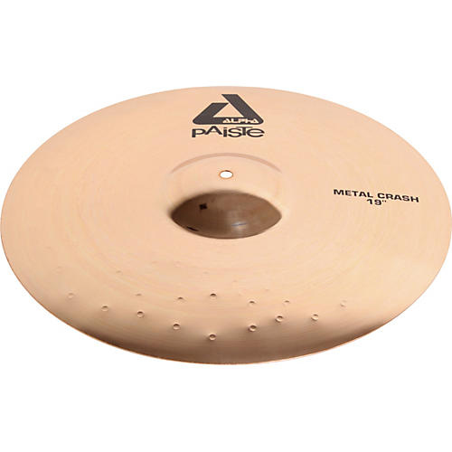 paiste alpha metal crash cymbal with brilliant finish musician 39 s friend. Black Bedroom Furniture Sets. Home Design Ideas
