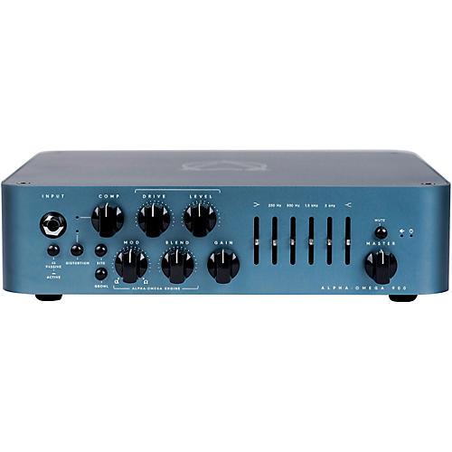 Darkglass Alpha Omega 900 900W Bass Amp Head Blue