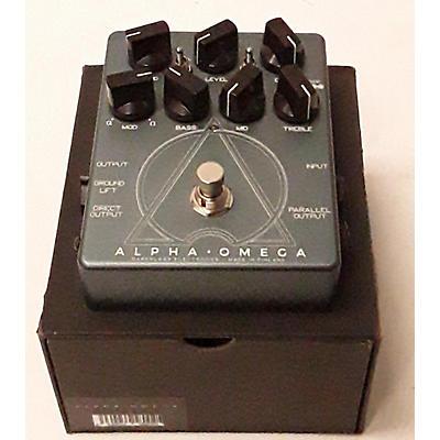 Darkglass Alpha Omega Pre Amp Bass Effect Pedal