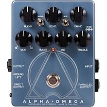 Open BoxDarkglass Alpha Omega Preamp Pedal