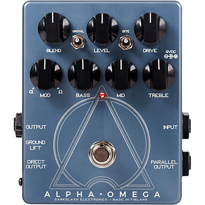Darkglass Alpha Omega Preamp Pedal