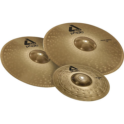 paiste alpha rock crash cymbal pack musician 39 s friend. Black Bedroom Furniture Sets. Home Design Ideas