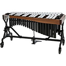 Open Box Adams Alpha Series 3.0 Octave Vibraphone, Silver Bars Motor Traveler Frame Walnut Rails