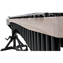 Alpha Series 3.0 Octave Vibraphone, Silver Bars Motor Traveler Frame White Wash Rails Black Resonators
