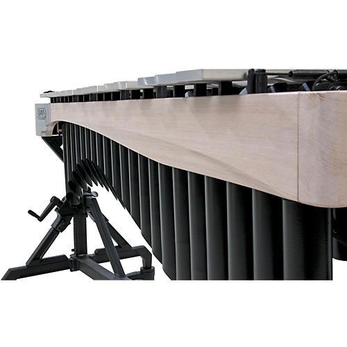 Adams Alpha Series 3.0 Octave Vibraphone, Silver Bars Motor Traveler Frame White Wash Rails