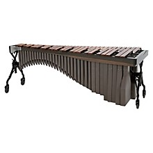 Alpha Series 4.3 Octave Rosewood Marimba with Graphite Rails Desert Resonators