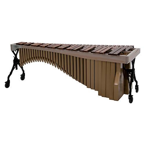 Adams Alpha Series 4.3 Octave Rosewood Marimba with White Wash Rails Satin Gold Resonators