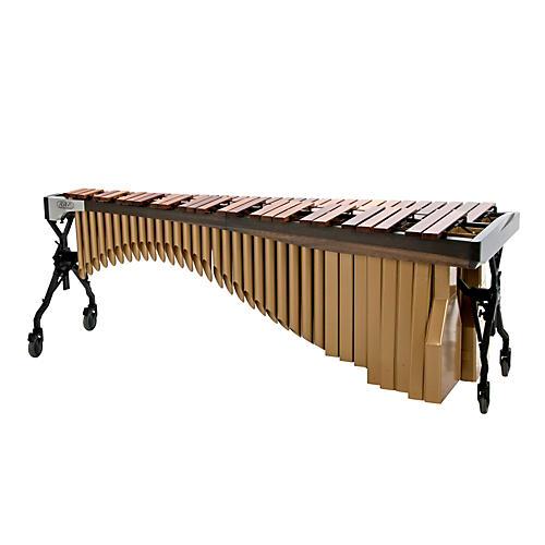 Adams Alpha Series 5.0 Octave Rosewood Marimba with Graphite Rails Satin Gold Resonators