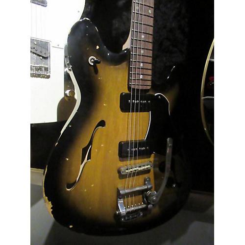 Fano Guitars Alt De Facto Gf6 Korina Hollow Body Electric Guitar Sunburst