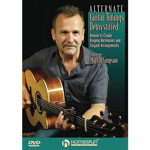 Homespun Alternative Guitar Tunings Demystified Homespun Tapes Series DVD Performed by Martin Simpson